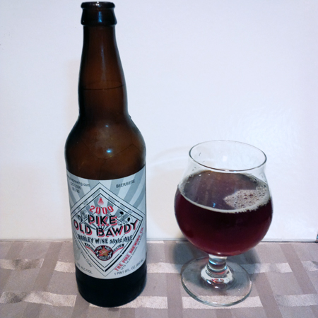 Pike Brewing Old Bawdy 2009 Vintage