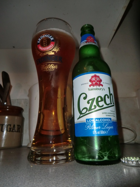 Sainsbury Low Alcohol Czech Lager