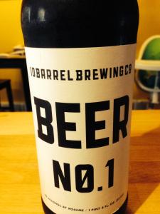 Beer No. 1