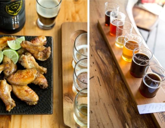 Beer Glazed Chicken Wings
