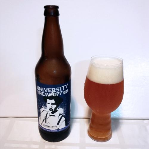 Deep Cove Brewers University Brew Off IPA