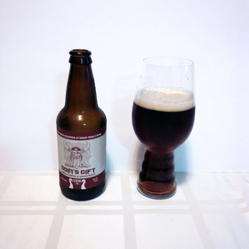 Odin Brewing - Odin's Gift Amber Ale with Juniper Berries