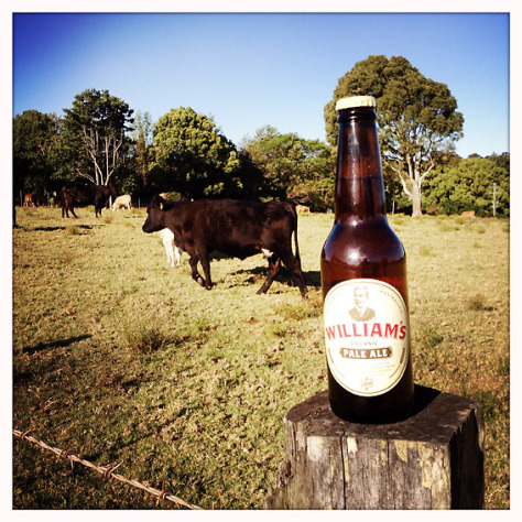 William's Organic Pale Ale .... it's organic, no bull!